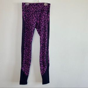 Lululemon Purple Cheetah Leggings